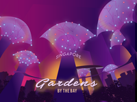 Gardens By The Bay Illustration