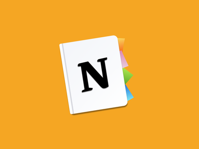 Replacement icon for Notion evernote mac icon