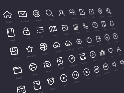 50icons by Catherine L