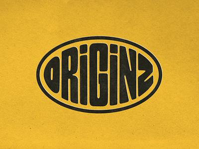 ORIGINZ - Logo design textures vintage logotype handlettering kendama branding logo type photoshop digitalart lettering typography graphicdesign design