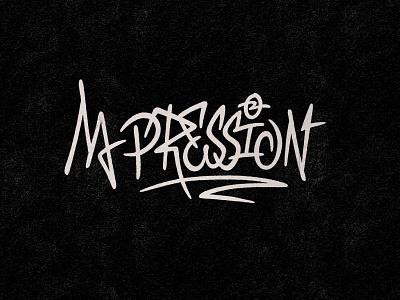 M-Pression 20 - Logo designs textures handdrawn logotype music artist procreate handlettering logo type photoshop digitalart lettering typography graphicdesign design