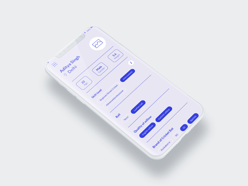 Profile Wireframe