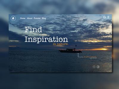 Find Inspiration web design