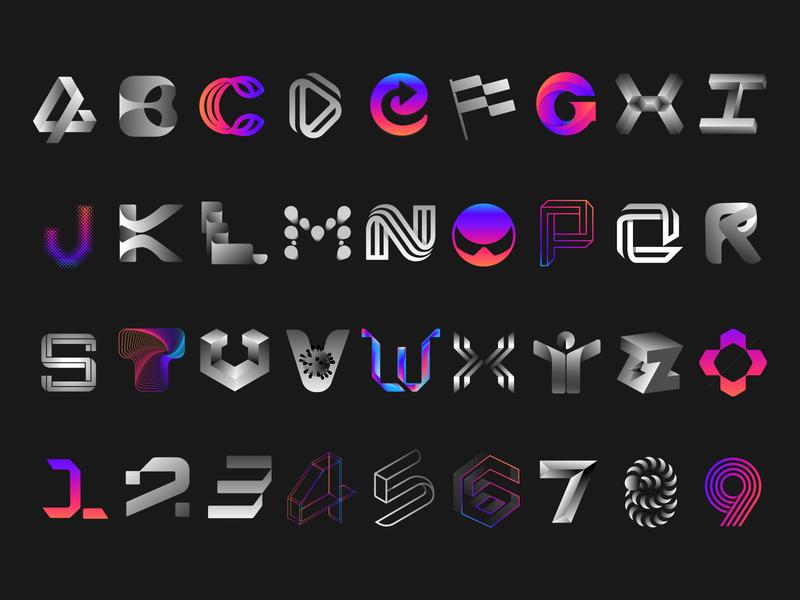 36daysoftype typography logomark branding visual identity symbol logo icon illustration vector design