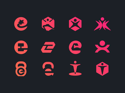 etrainer logo concepts