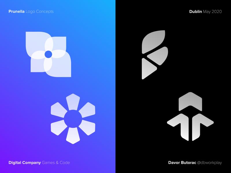 PRUNELLA™ Logo Concepts logodizajn dbworkplay brandidentity logodesigner logodesing logomark branding visual identity symbol logo icon illustration design vector