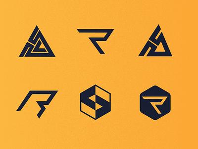 Rock Solid Studio Logo Concepts logodizajner logoinspirations dbworkplay brandidentitydesign visualidentity brandidentity branding lettermark logomark logodizajn logoprocess logodesign logoconcepts logo