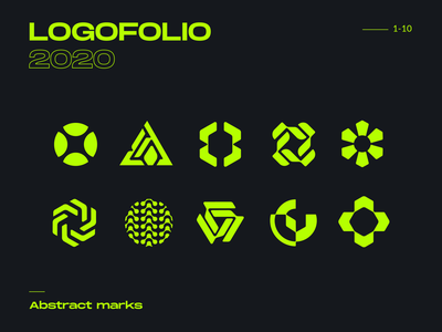 Logofolio 2020 - Abstract marks dbworkplay visualidentity brandidentity branding brand abstract mark symbol icon logosymbol logomark logocolleciton logos logodesigner logofolio logo