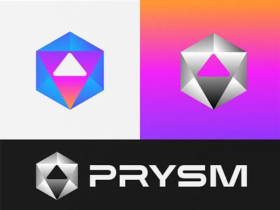 PRYSM logo colors logo designer logo dizajn brand brand identity visualidentity logodesign dbworkplay brandidentity visual identity icon symbol logomark logo branding