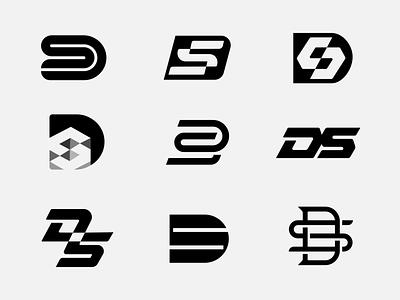 DS monograms logo designer brand designer brand identity brand monogram logotype lettermark logofolio logo colleciton logo inspiration logo design dbworkplay visual identity symbol logomark logo branding