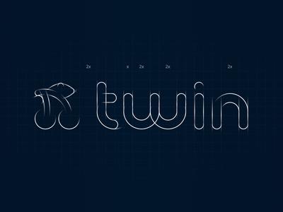 Twin Logo: Motion for presentation