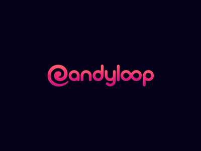 Candyloop Casino: Logo Animation lollipop online casino branding logo splash animation splashes logo animation candyloop candy