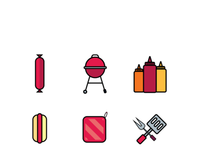 BBQ Party Icon