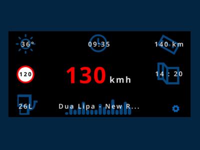 Daily UI :: 034 Car Interface