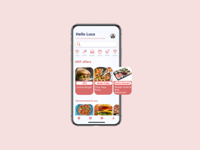 Daily UI :: 043 Food/Drink Menu