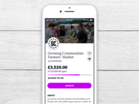Daily UI 032 - Crowdfunding campaign