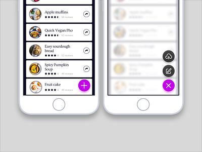 Daily UI 090 - Create new create new 090 daily ui daily challenge ios mobile app food app app mobile ui interface sketch ui challenge daily 100 challenge ui dailyui