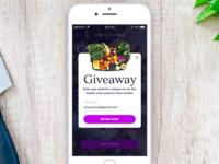 Daily UI 097 - Giveaway