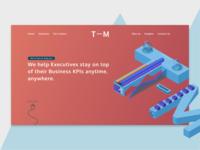 Thinkmetrix website concept