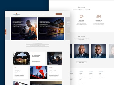 Proposed Website Redesign for Coronation Bank