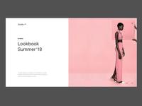 Fashion brand — Lookbook ver. 1