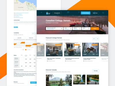 Cottage Portal Redesign