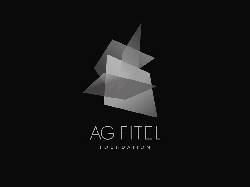 AG FITEL Metallurgic Foundation handmade typography ui minimal icon vector logo design branding