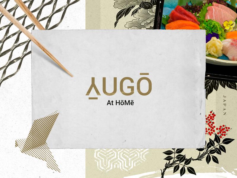Yugō At Hōmē icon typography japanese design logo restaurant branding restaurant branding