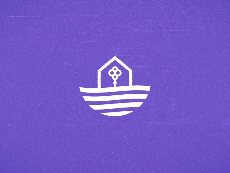 Deco Med app brand identity handmade ui minimal icon vector logo design branding
