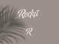 Rocket Lemon dribbble app brand identity web ui handmade logo lettering custom branding design