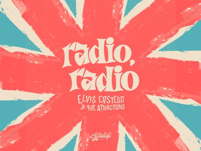 Radio, Radio letters handlettering typeface type dribbble handmade custom typography lettering