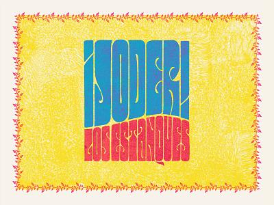 ¡Joder! psychedelic cover music handlettering letters typeface type design dribbble custom typography lettering handmade