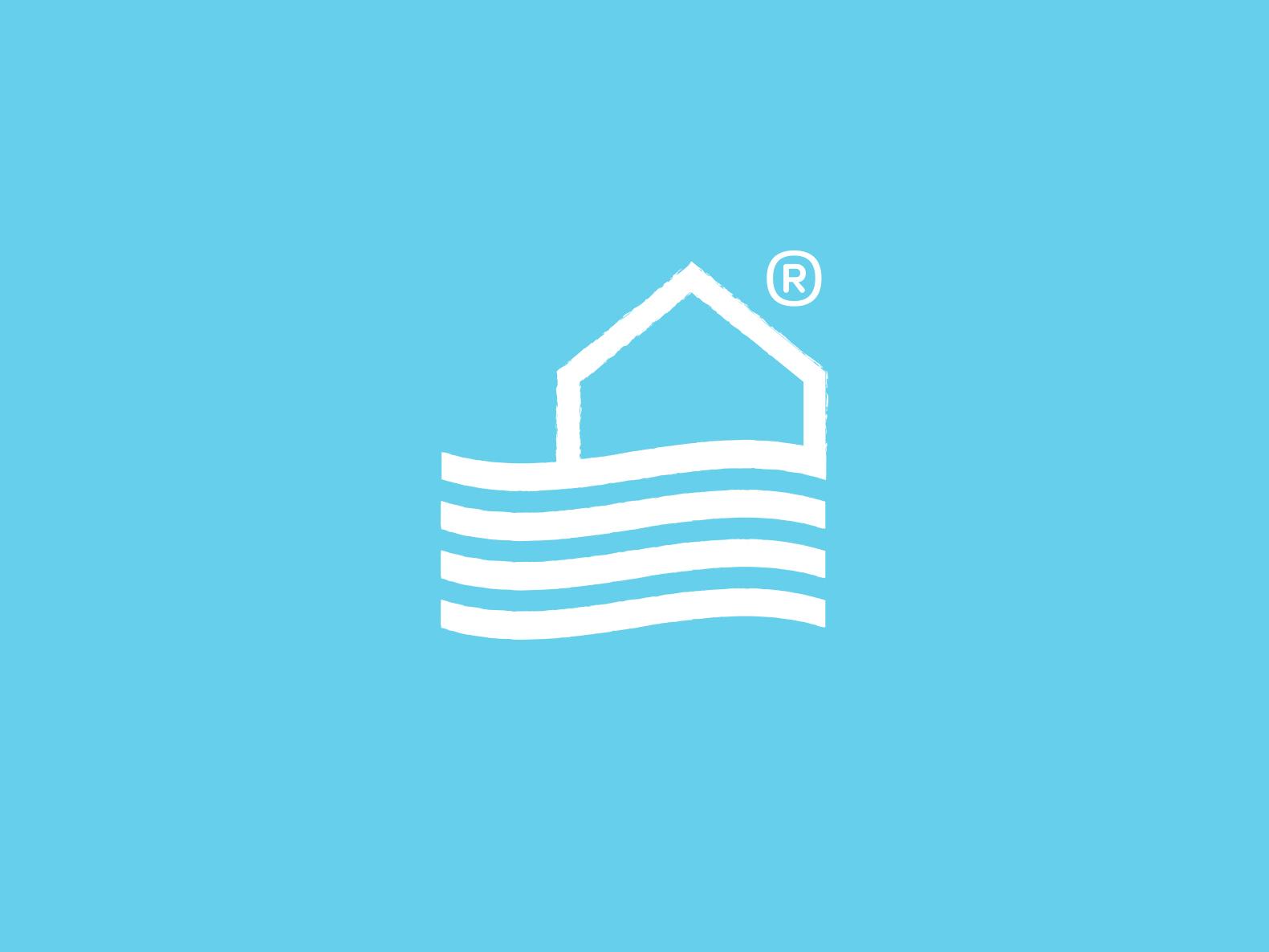 Mediterran Deco flat illustration lettering minimal ui icon logo design branding