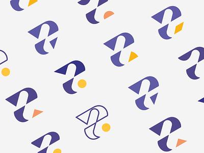 Jawlah Brand Design triangle logo j logo blog logo publication online media startups branding arabic logo ج