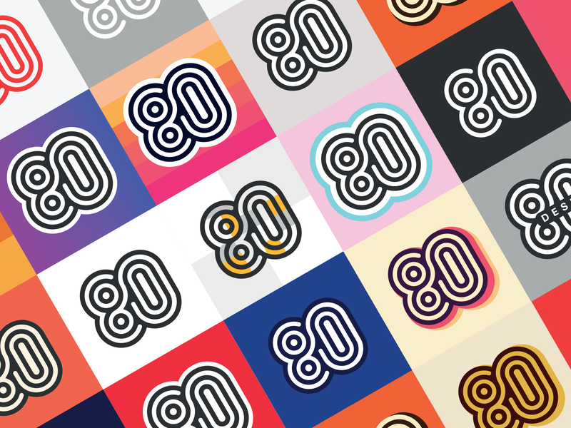Exploring Retro Color Options for 80 retro colors retro logo retro design symbol vintage retro logo gradient eighty design color palette color options colorful color branding 80s style 80s 80