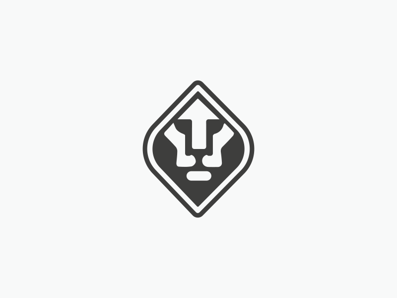 Lion Logo Concept minimal lion lion logo concept lion