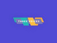 Three Voices Logo Concept