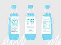 acqua di blu bottle label design pt.3