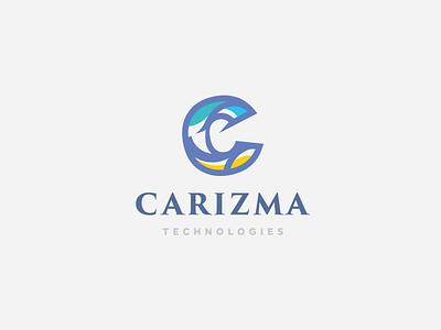 Carizma Technologies Logo technologies saudi arabia logo logo lettermark lettering karisma logo identity c mark c logo c letter arabic logo