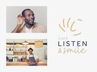 Listen & Smile Logo Concept
