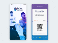 ISÖM Events App UI Style - Exploration