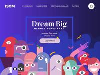 ISÖM - Landing Page Concept