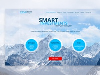Landing page. Investment Company