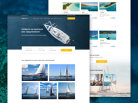 Sailing Web Site