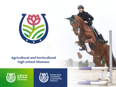 Logo for agricultural and horticultural school