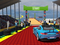 Ramp Car Jump Free Mega Ramp Game by Redcorner Games