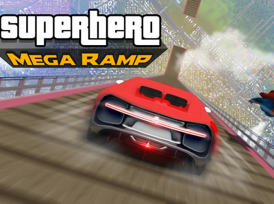 Superhero Games - Mega Ramp Game released by Redcorner Games dribbble racinggames racing car spider superhero megaramp icon carstunts illustration racing animation design app androidgames androidgamers mobilegames gaming gamers gamerguy gamergirl