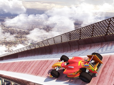 Mega Ramp Impossible 3D - Impossible Mega Ramp 3D Stunts