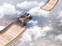 Mega Ramp Impossible 3D - Mega Ramp Racing Games