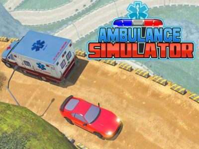 Ambulance Simulator Game - Rescue Ambulance Driving